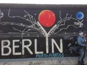 Карта разделения Берлина
