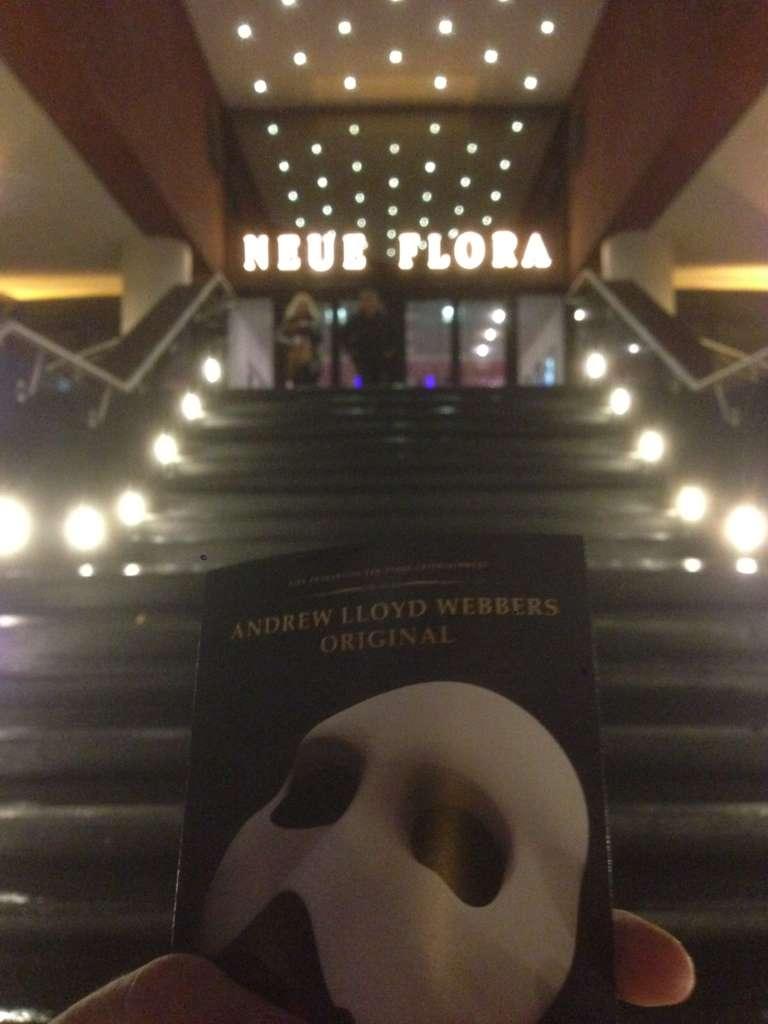 Показ Фантома Оперы в Гамбурге
