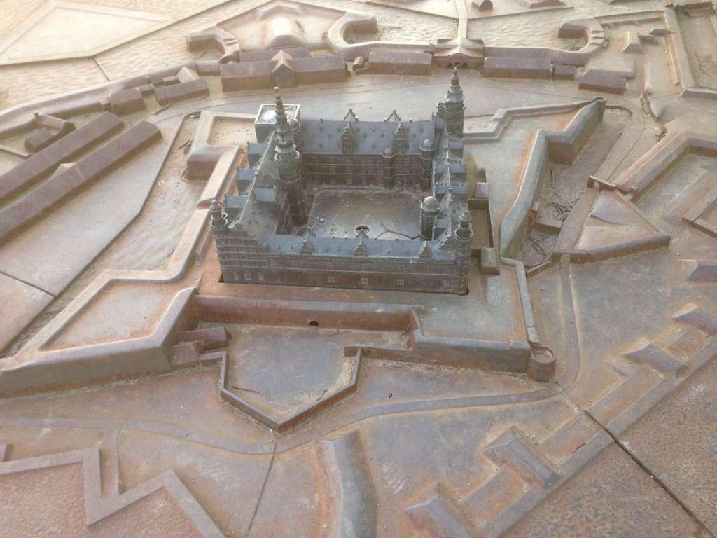 Миниатюра замка Кронборг