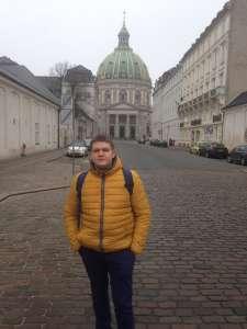 Улицы центральной части столицы Дании.