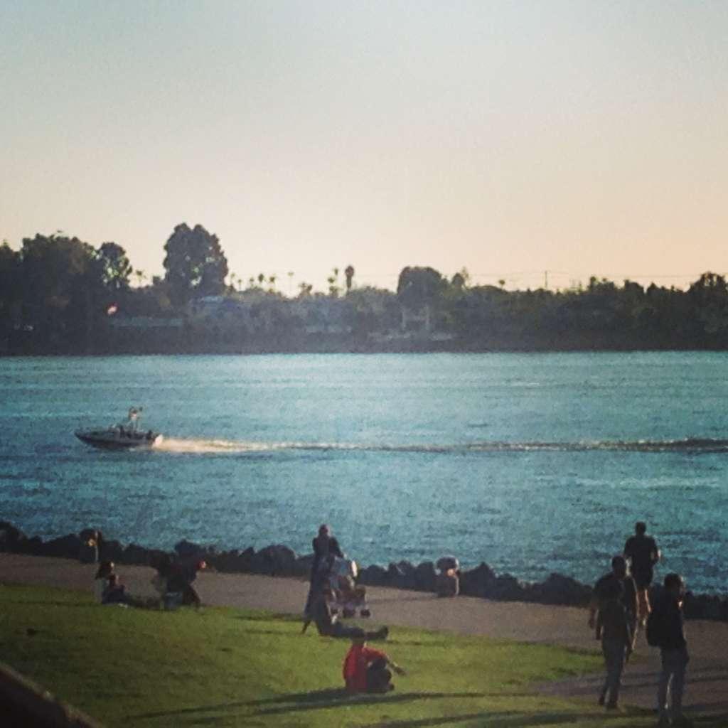 Затока San-Diego.