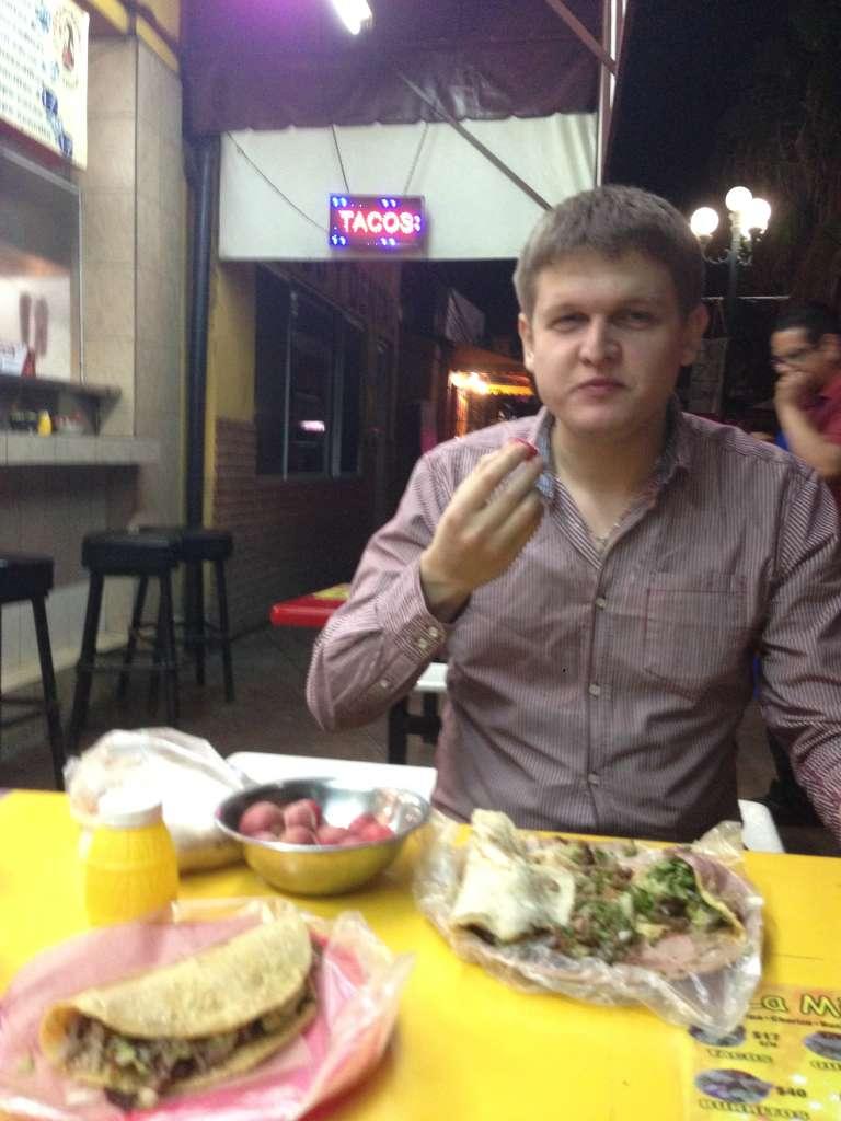 Мексиканская еда, Тихуана.