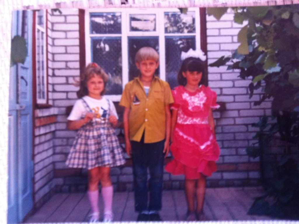 Таким вот я был в детстве :)