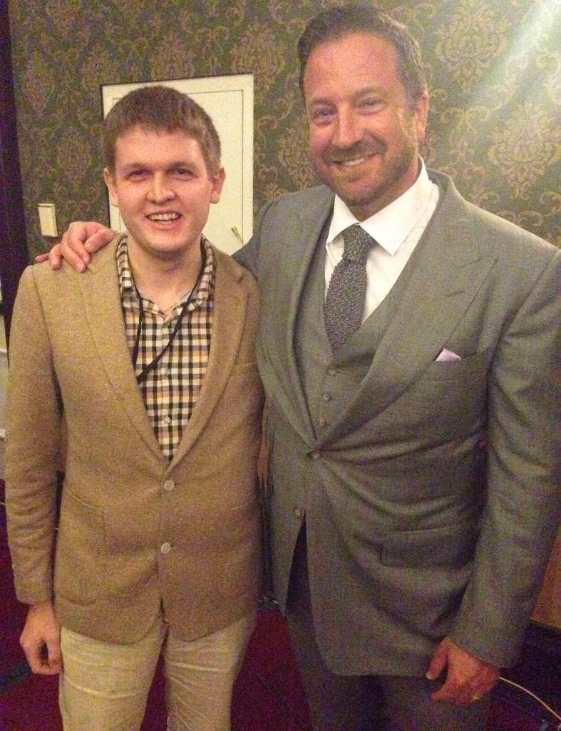 Я и Френк Керн в Сан - Диего.  Френк  один из самых авторитетных маркетологов США.