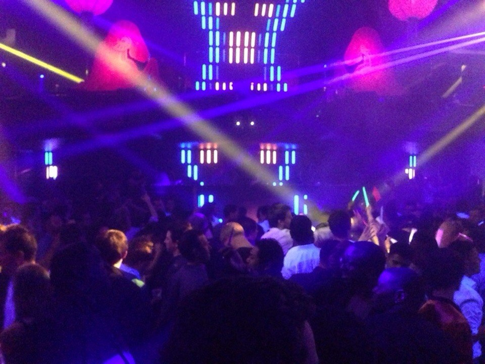 Night Club Hakkasan in MGM Casino.