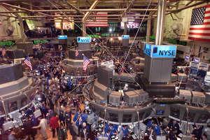 Зал New-York Stock Exchange (NYSE). Нью - Йоркская фондовая биржа.
