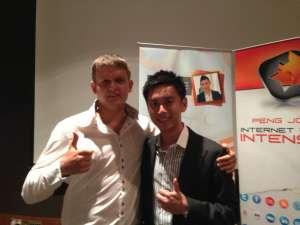 Тренинг Peng Joon по интернет бизнесу в Малайзии.