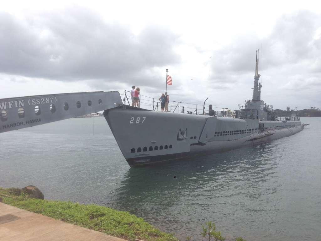 Подводная лодка ВМС США.
