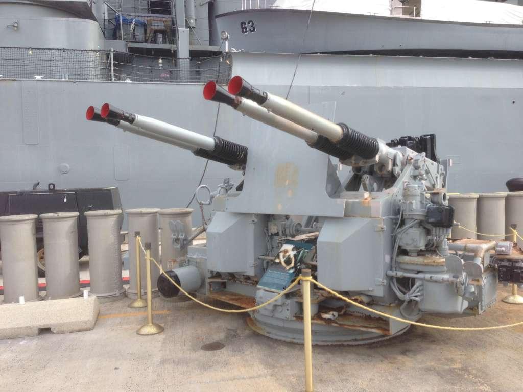 ПВО на Линкоре USS Missouri.
