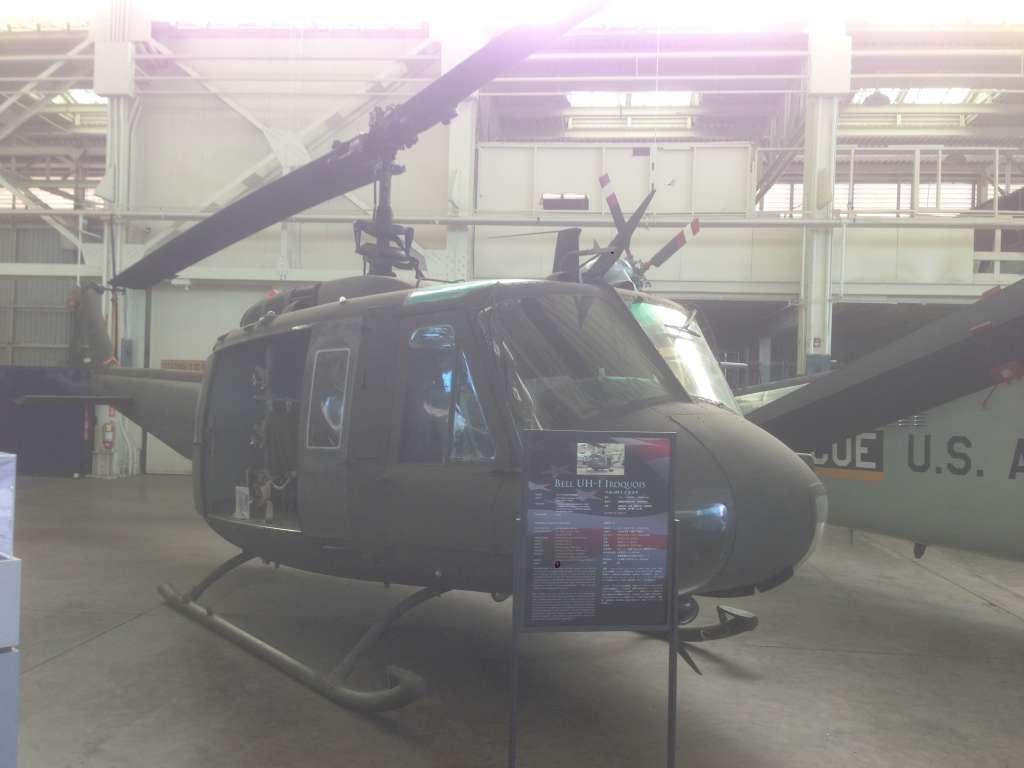 Экспонат музея авиации на Перл-Харбор.