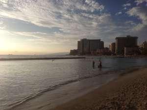 Пляж Вайкики.