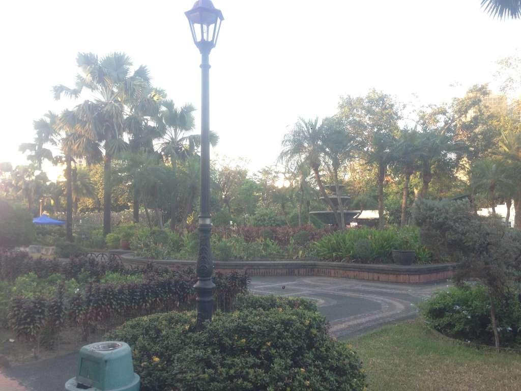 Парк в Инрамурос.