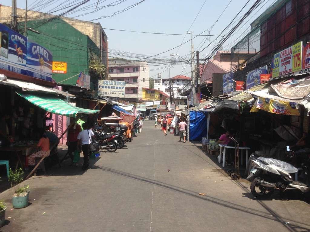 Обычная улица в Маниле.
