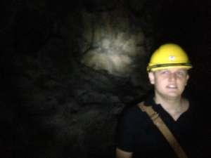 Внутри пещер Бату.