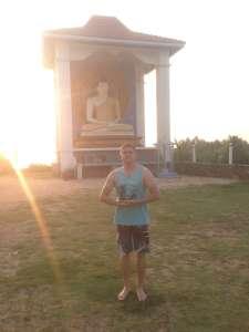 Буддисткий храм в Унулуватуне.