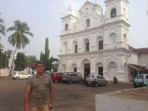 Католический храм на Гоа.Католический храм на Гоа.