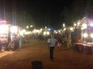 Ночной рынок.