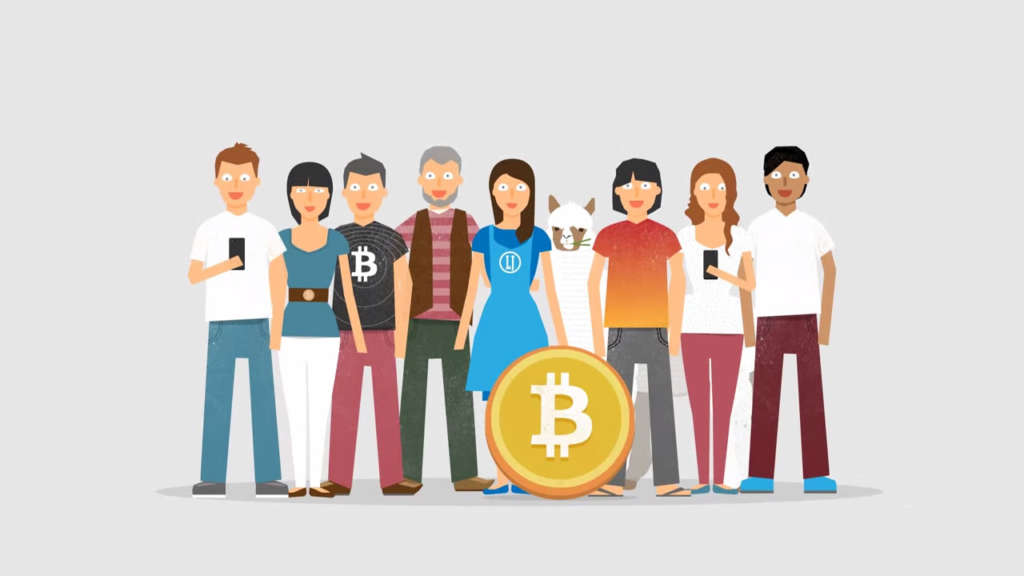 Bitcoin users