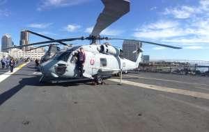 USS Midway. Музей авионосец ВМС США.