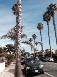 Улицы в Сан-Диего.
