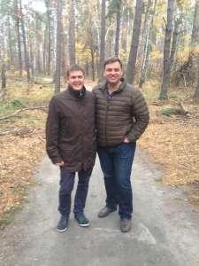 Севериновка, с тренером успеха - Николаем Латанским.