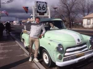 Route 66 museum. Arizona.