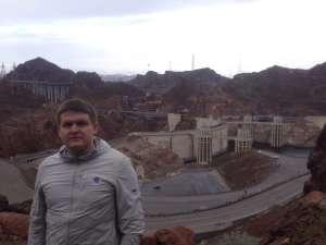 Hoover Damp, Nevada - Arizona border.
