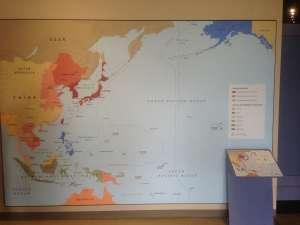 Карта влияний в регионе.