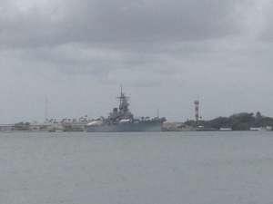 USS Missouri.