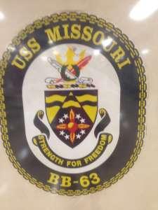 USS Missouri лого.
