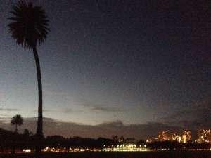 Вечерний Гонолулу.