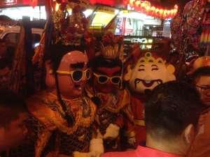Тусовка китайских Богов.