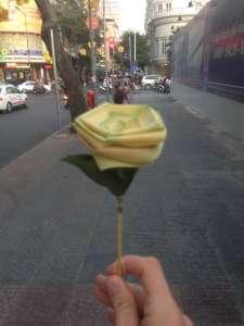 Милый цветочек для милой девушки.