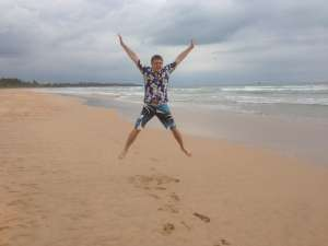Пляж Бентоты.