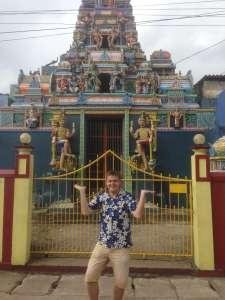 Индуистский храм.