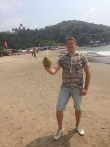 Освежающий кокос.